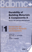 Durability of Building Materials and Components 8  Service life and durability of materials and components