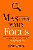 Master Your Focus Book PDF