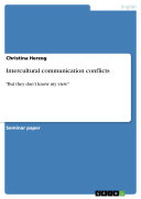 Intercultural communication conflicts