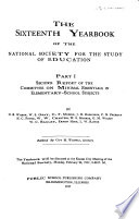 Yearbook of the National Society for the Study of Education