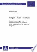Religion - Kultur - Theologie