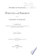 The Origin of the Sex cells in Hydractinia and Podocoryne and the Development of Hydractinia