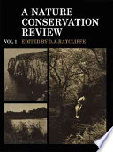 A Nature Conservation Review  Volume 1
