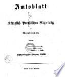 Amtsblatt des Regierungspräsidenten in Gumbinnen
