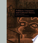 Folklore Literature And Cultural Theory book