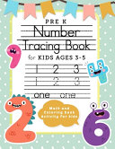 Pre K Number Tracing Book For Kids Ages 3 5 Math And Coloring Book Activity For Kids