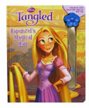 Disney Tangled: Rapunzel's Magical Hair Storybook with Light Up Removable Hair