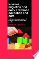 Nannies  Migration and Early Childhood Education and Care