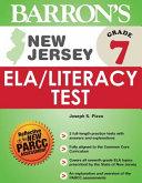 Barron s New Jersey Grade 7 Ela Literacy Test