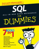 SQL All in One Desk Reference For Dummies