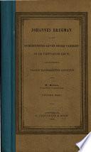 Johannes Brugman en het godsdienstig leven onzer vaderen in de vijftiende eeuw, gootendeels volgens handschriften geschtst