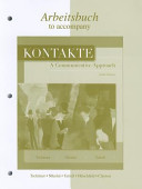Workbook/Laboratory Manual to accompany Kontakte: A Communicative Approach