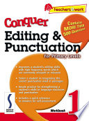 Ebook e-Conquer Editing & Punctuation Workbook 1 Epub J. Lee Apps Read Mobile