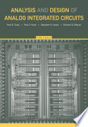 Analysis And Design Of Analog Integrated Circuits 5th Edition