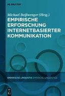Empirische Erforschung internetbasierter Kommunikation