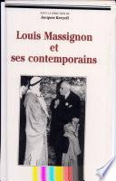 Louis Massignon et ses contemporains