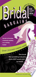 Bridal Bargains  11th Edition  American s  1 Best Selling Wedding Book