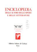 Enciclopedia degli autori  delle opere e delle letterature
