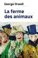 Roman La Ferme Des Animaux Format Poche 2019