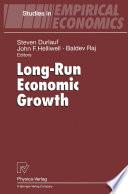 Long Run Economic Growth