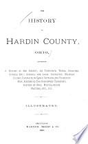 The History of Hardin County  Ohio