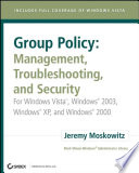 Group Policy  Management  Troubleshooting  and Security