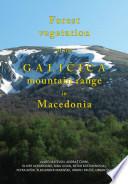 Forest Vegetation of Galièica Mountain Range in Macedonia