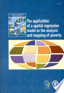 The Application of a Spatial Regression Model to the Analysis and Mapping of Poverty