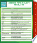 Medical Terminology The Basics Speedy Study Guides