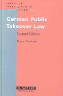 German Public Takeover Law