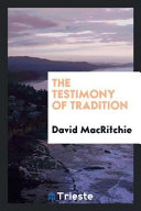 The Testimony of Tradition
