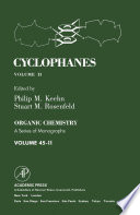 Cyclophanes book