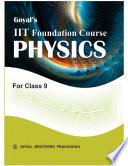 Goyal   s IIT FOUNDATION COURSE PHYSICS