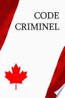 Code criminel