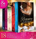 Regency Christmas Collection (Mills & Boon E-Book Collections) : barbara monajem, linda skye, louise allen, lucy ashford,...
