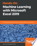 Hands On Machine Learning With Microsoft Excel 2019