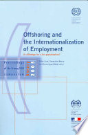 Offshoring and the Internationalization of Employment