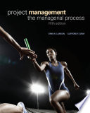 Project Management the Managerial Process  5th Edition  Larson   Gray  2011