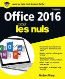 Office 2016 pour les Nuls grand format  2e   dition