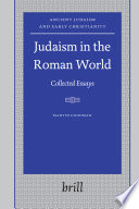 Judaism in the Roman World