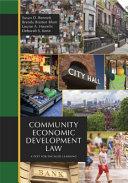 Community Economic Development Law