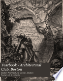 The Year Book of the Boston Architectural Club