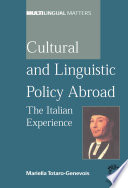 Cultural and Linguistic Policy Abroad
