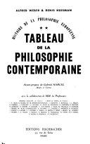 Tableau de la philosophie contemporaine