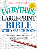 The Everything Large Print Bible Word Search Book