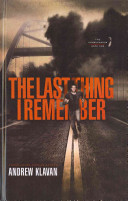 The Last Thing I Remember Book PDF