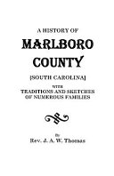 A History of Marlboro County