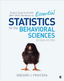 Student Study Guide With Ibm Spss Workbook For Essential Statistics For The Behavioral Sciences