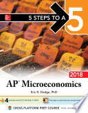5 Steps to a 5  AP Microeconomics  2018 Edition