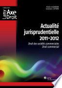 Actualit   jurisprudentielle 2011 2012